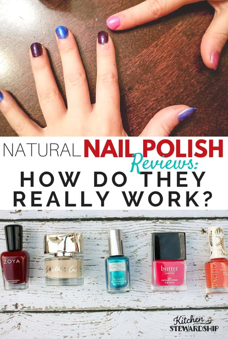 Natural Nail Polish Reviews