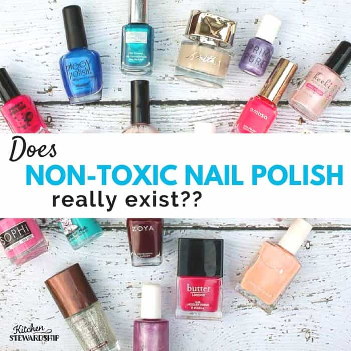 Is There A Natural Non Toxic Brand Of Nail Polish Out There