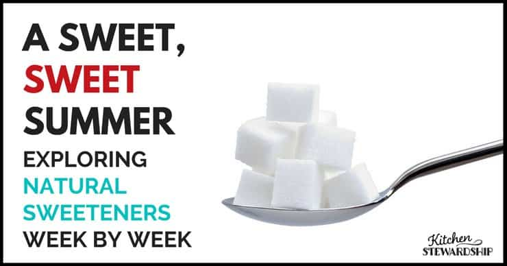 A Sweet Sweet Summer: Exploring Natural Sweeteners Week by Week