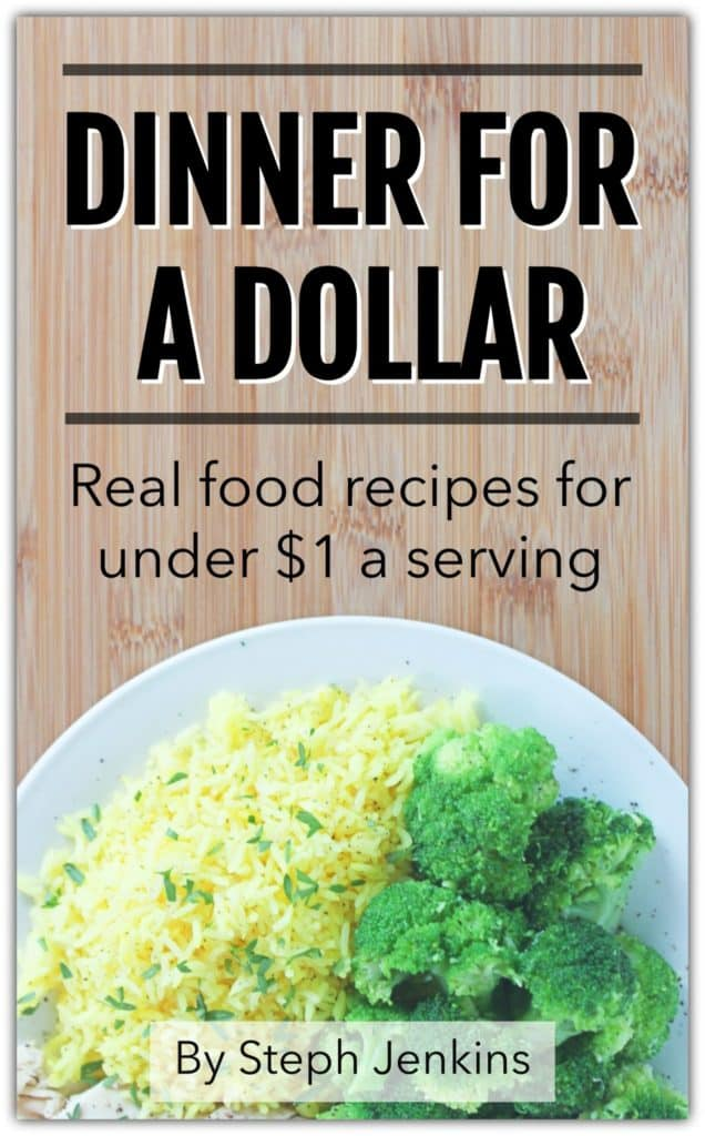 Dinner for a Dollar book