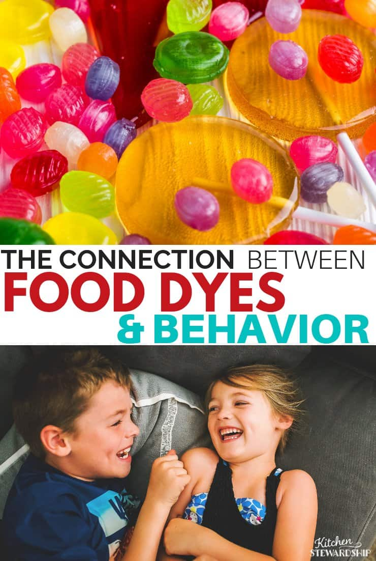 hard candy and kids playing - food dyes, especially red dye in food, has been linked to problematic behavior in children