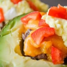 Family Favorite Grain-Free Avocado Taco Bowl Recipe