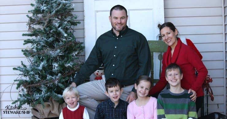 Family Christmas photo.
