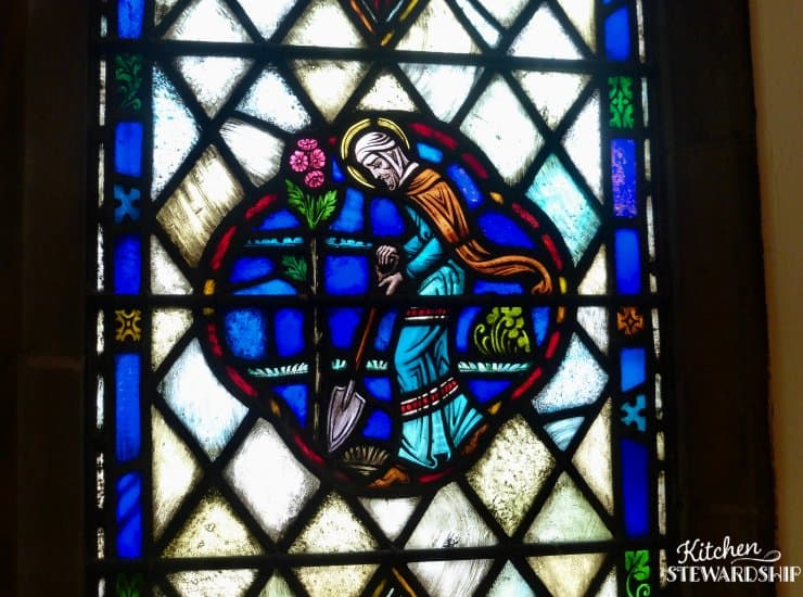 stained glass in church