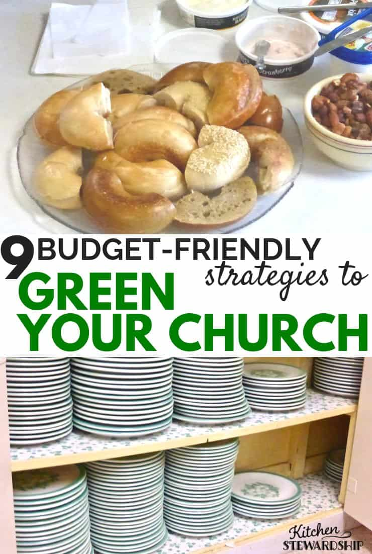 9 Budget-friendly strategies to green your church
