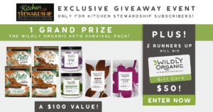 Making Keto Easy with Wildly Organic {GIVEAWAY}