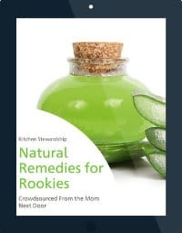 Natural Remedies for Rookies eBook