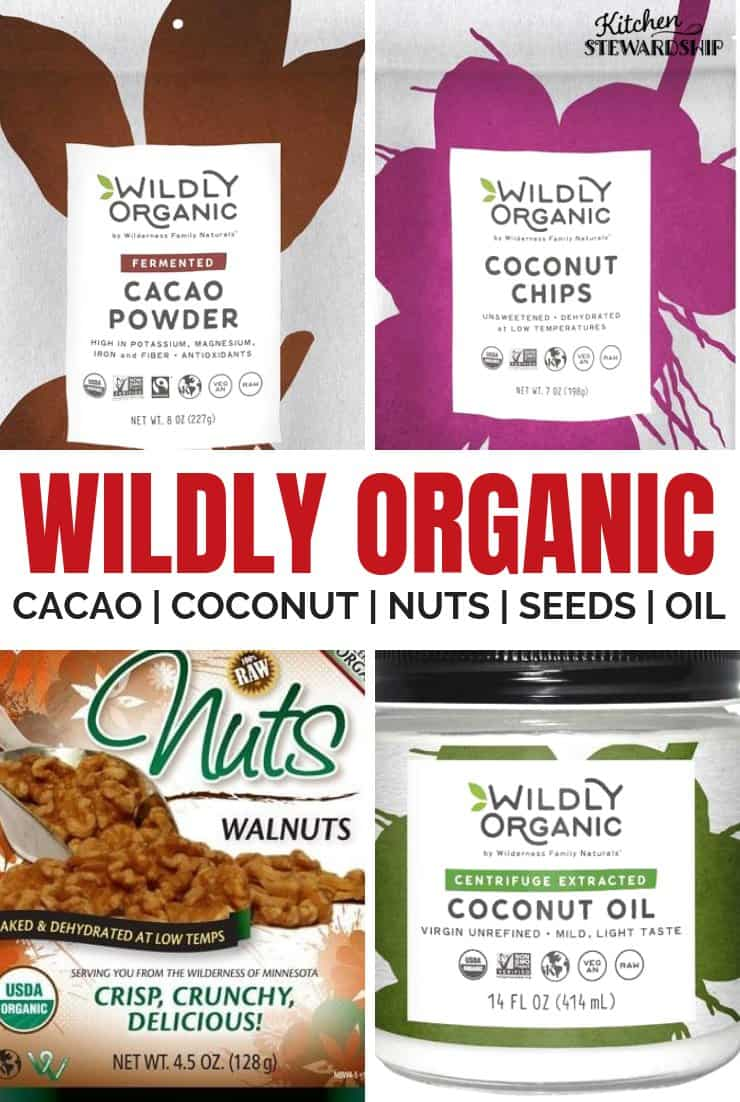 Wildly organic products
