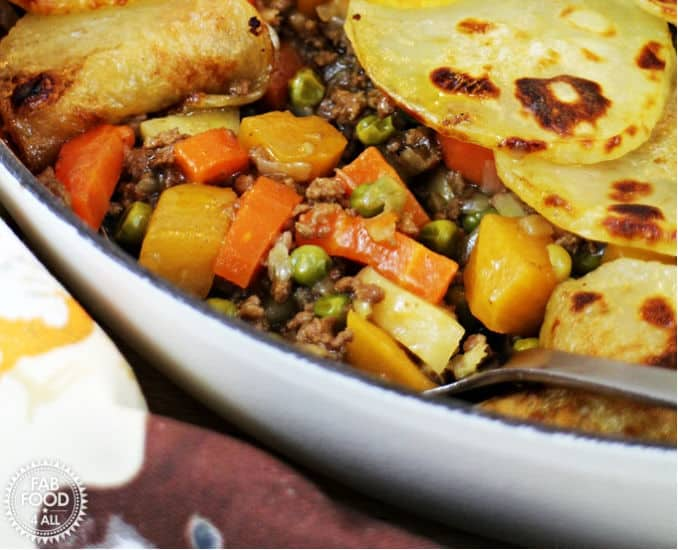Minced beef hot pot recipe