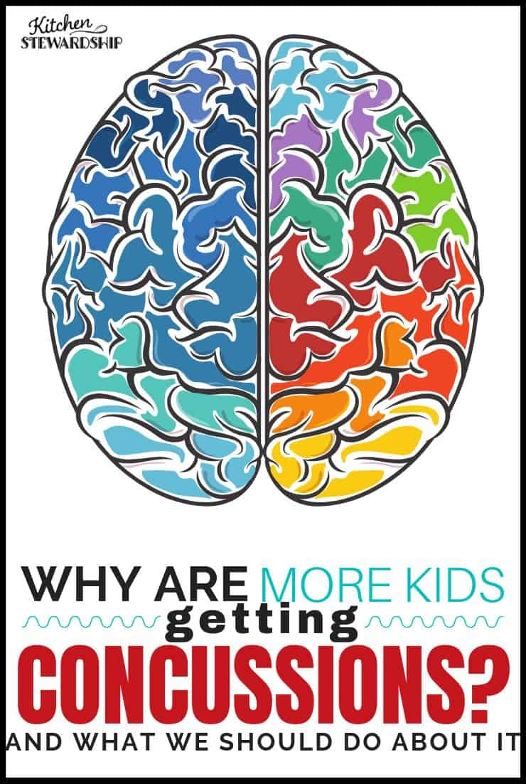Why are more kids getting concussions?