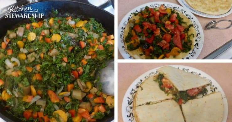 3 different ways to eat sauted veggies