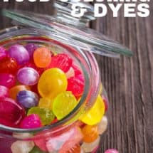 Monday Mission: Avoid Artificial Food Dyes and Colorings