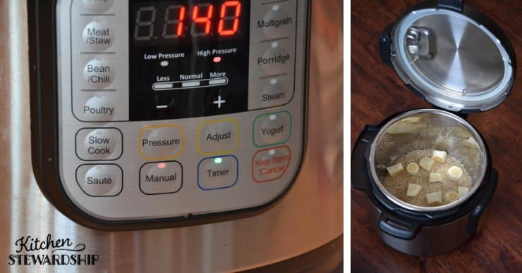 Instant pot and steel cut oatmeal