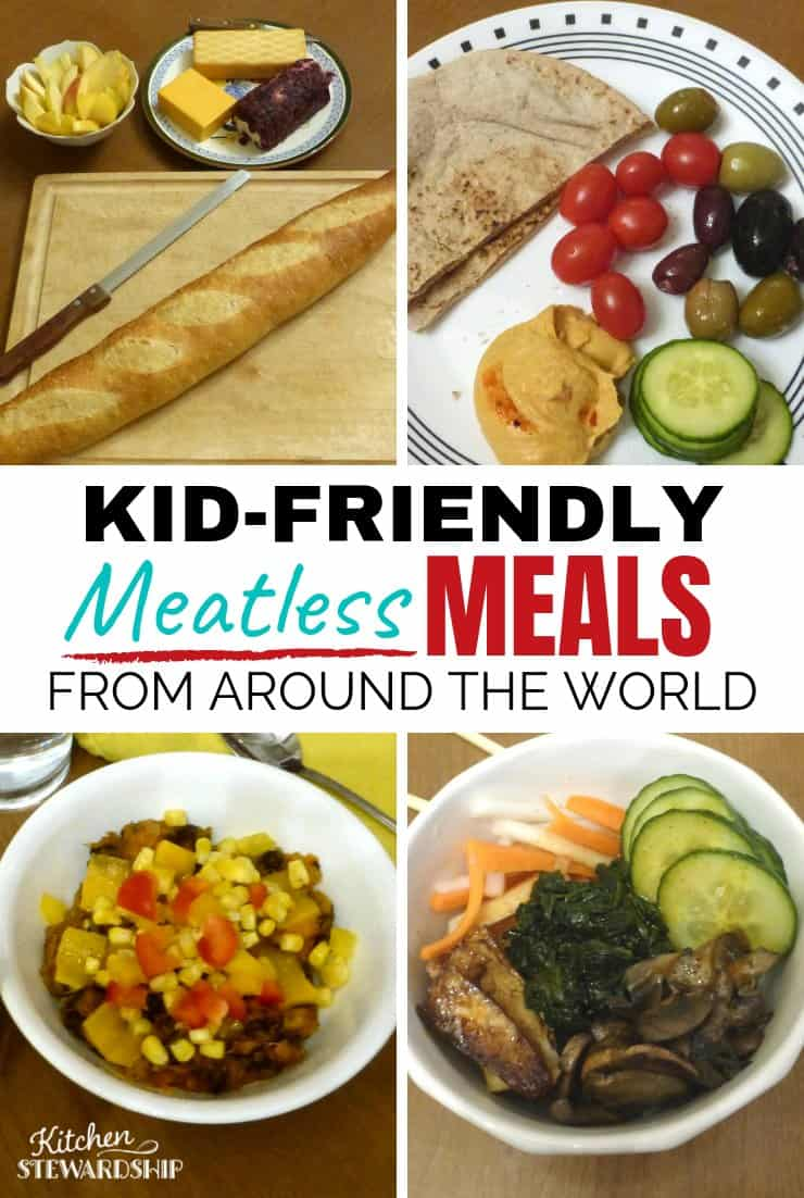 vegetarian dinner options