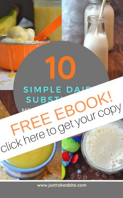 10 Simple Dairy Substitutes FREE ebook