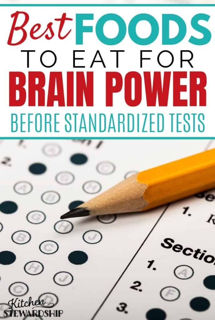 Best Foods to Eat for Brain Power Before Standardized Tests