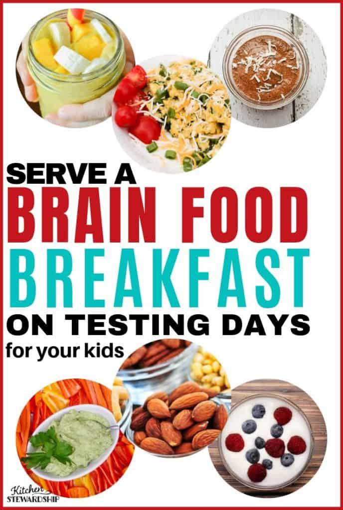 Serve a Brain Food Breakfast on Testing Days
