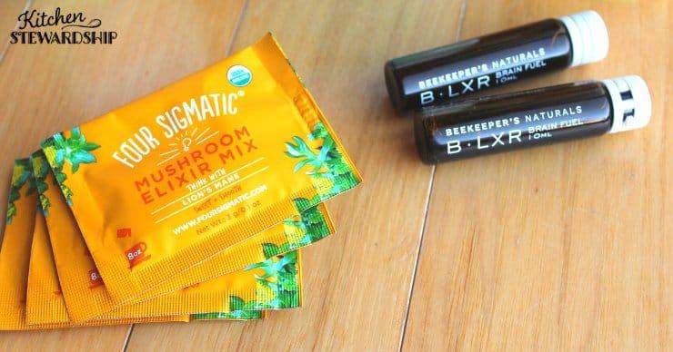 Supplements for brain health