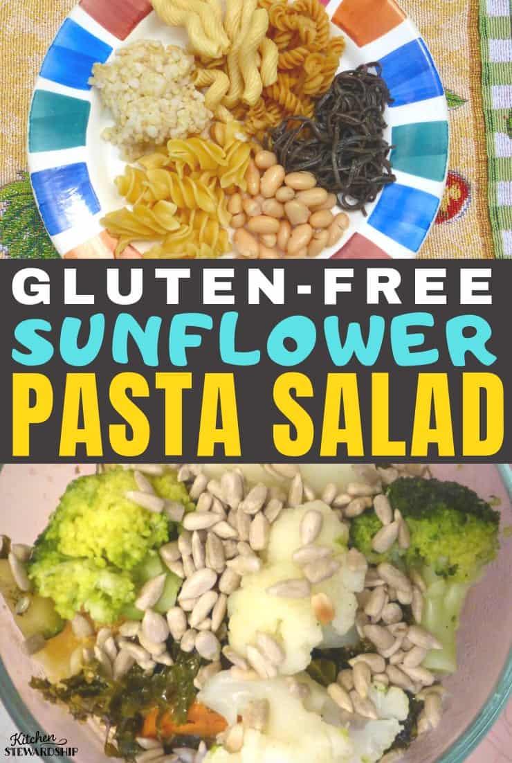 Gluten-free Sunflower Pasta Salad