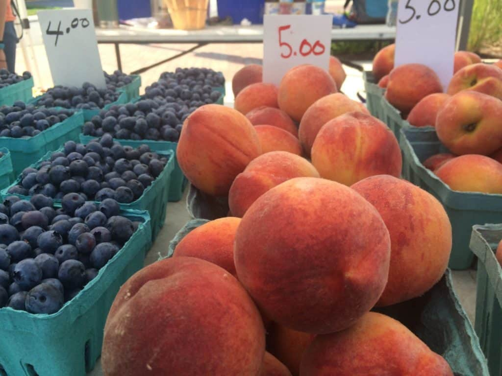 Fruit at a farmer's market