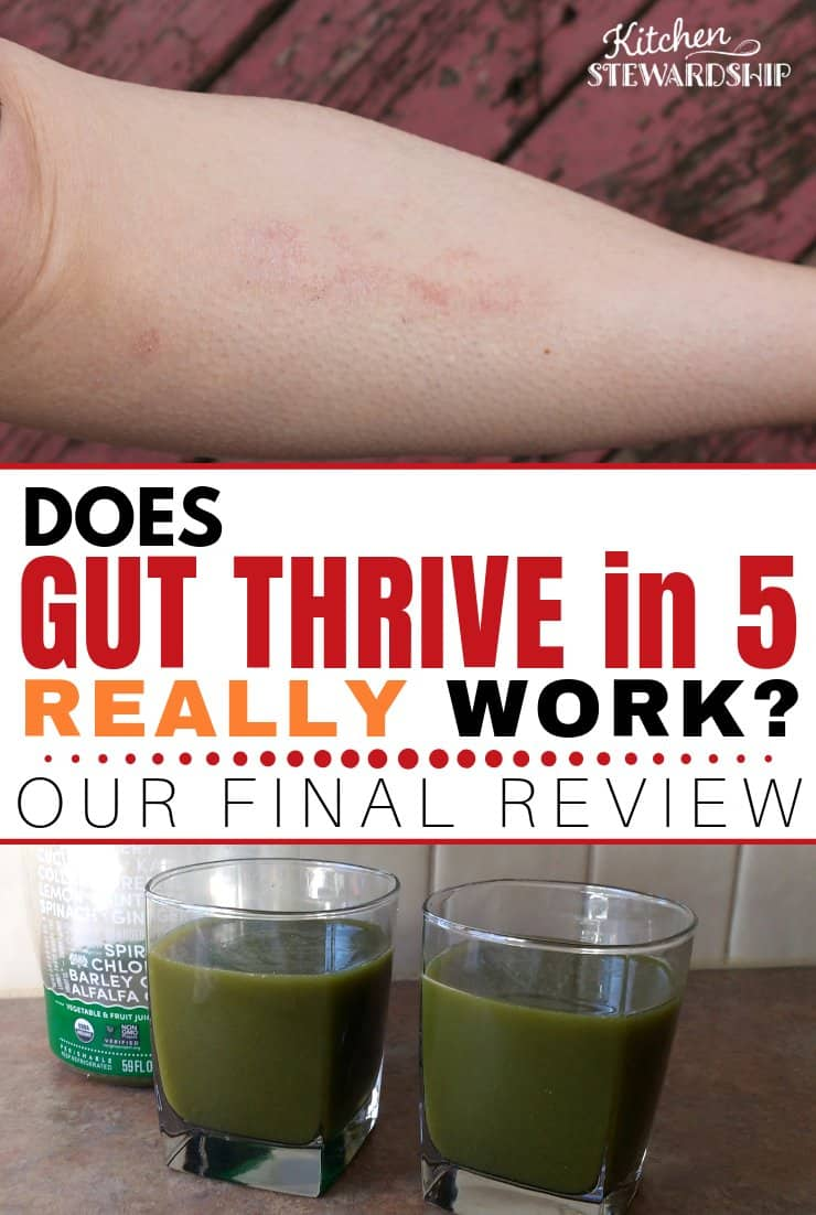 Does Gut Thrive in 5 Really Work? The Final Review