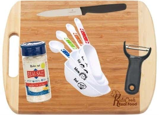 Kids Cook Real Food's Kid-Friendly Kitchen Tools Kit