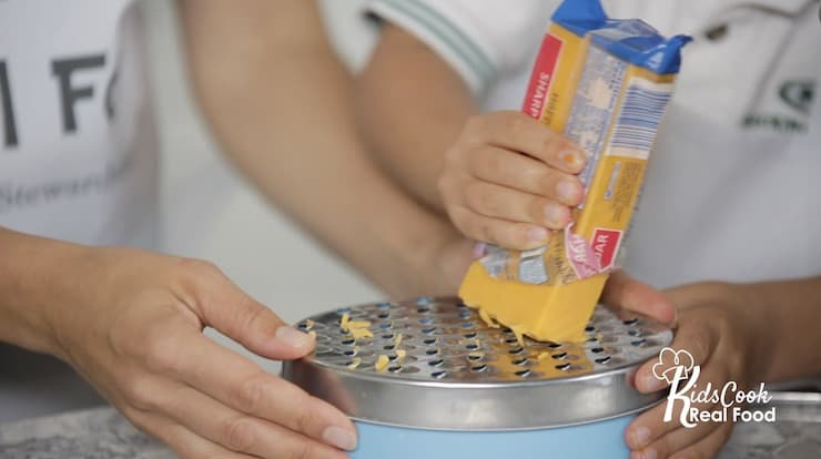 kid friendly cheese grater