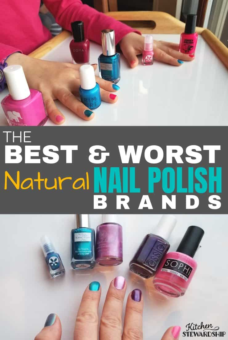The Best & Worst Natural Nail Polish Brands