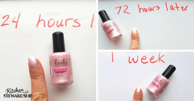 Keeki nail polish review
