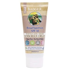 Badger Mineral Sunscreen