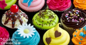 ban sugary treat and colorful cupcakes from school celebrations and parties