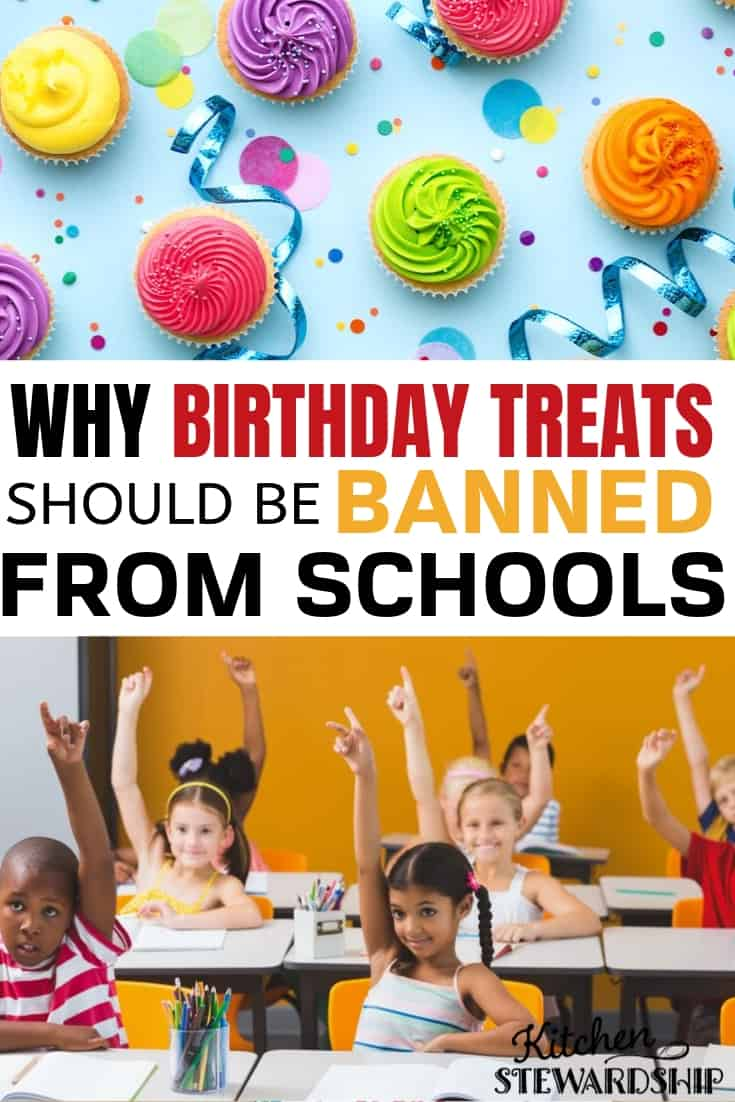 Why birthday treats should be banned from schools