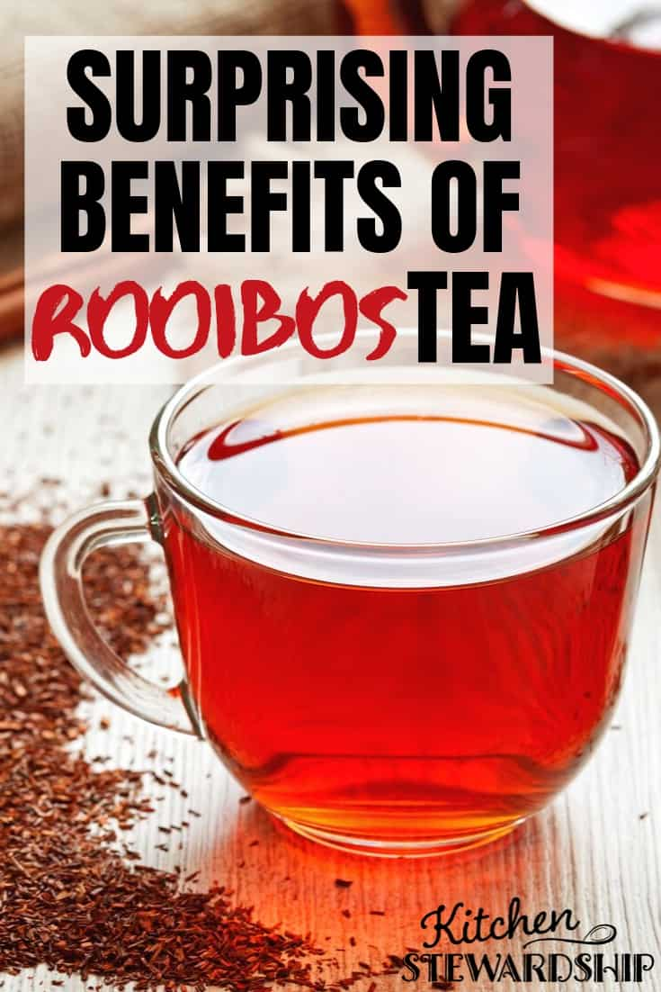 Surprising benefits of rooibos tea