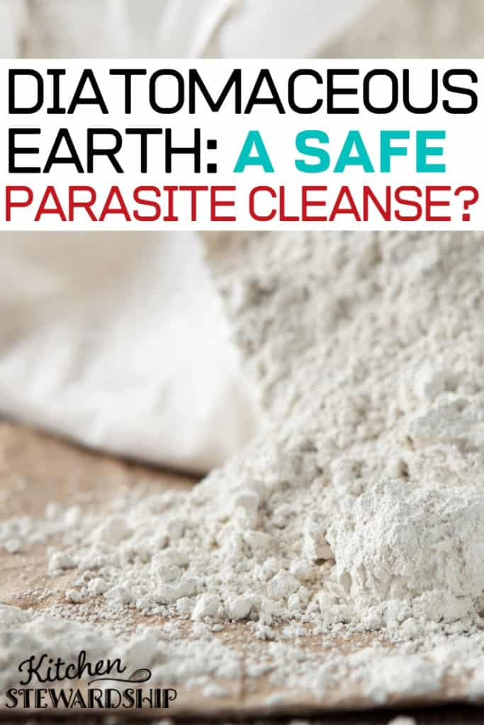Diatomaceous earth: a safe parasite cleanse?