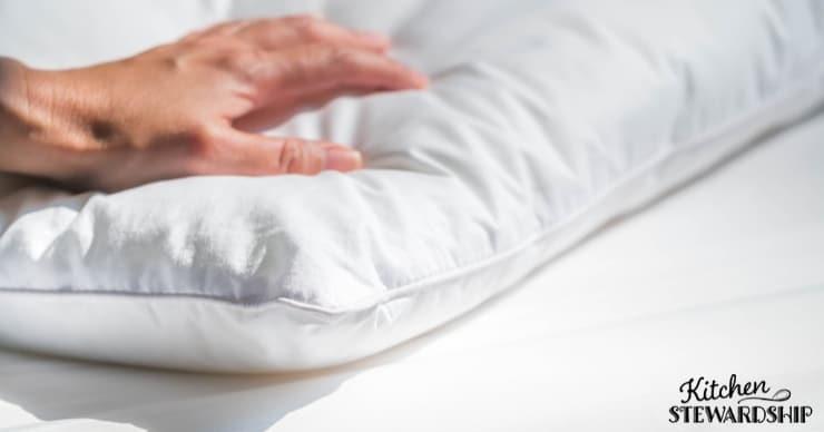 Pillow and mattress