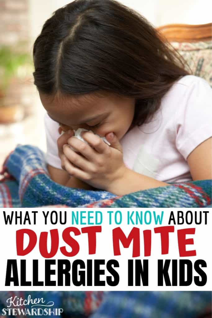 What you need to know about dust mite allergies in kids