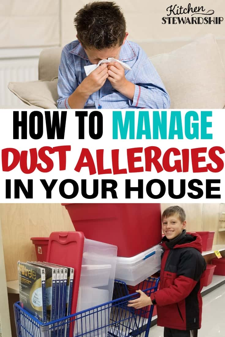 How to manage dust allergies in your house