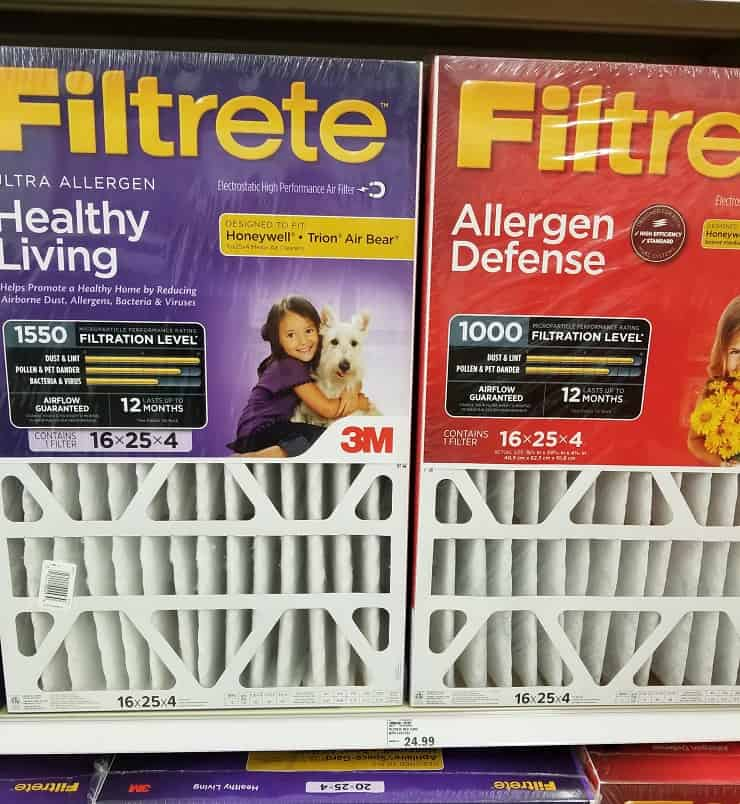 allergy friendly air filters