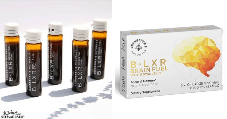 review of b.lxr brain fuel from beekeepers naturals