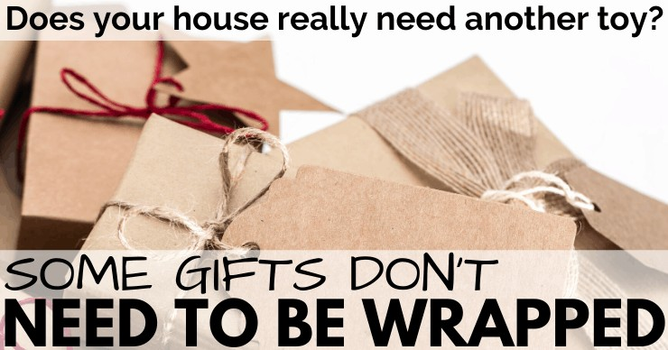 simple wrapping paper
