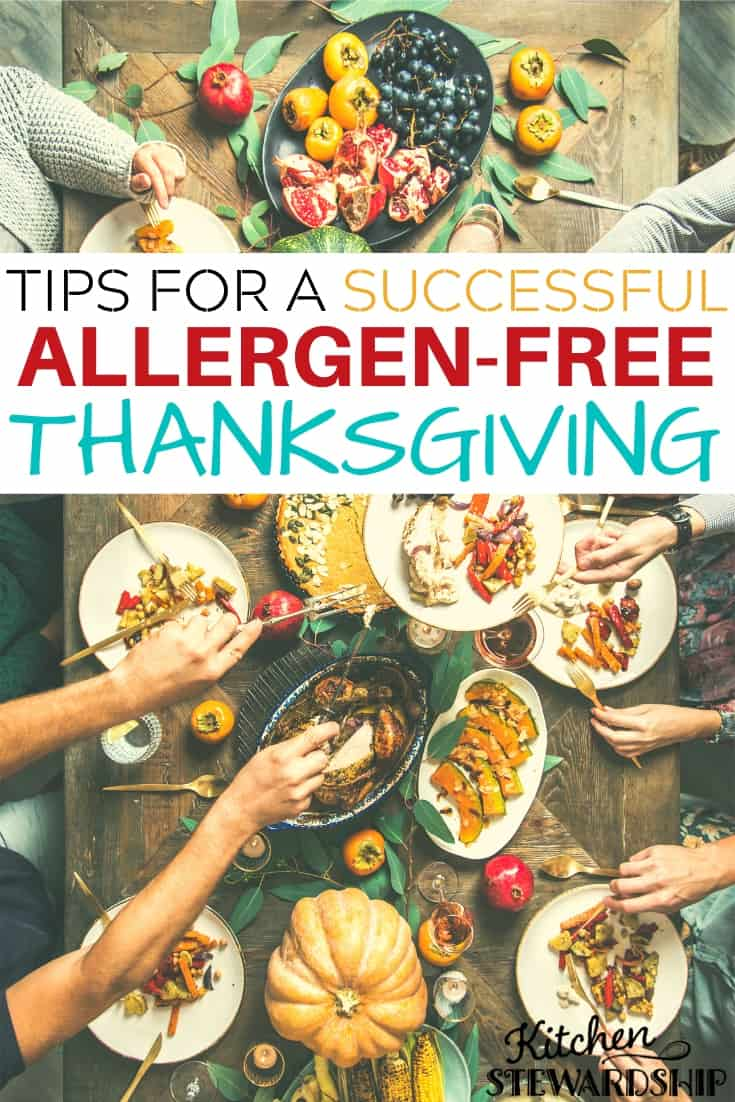 Tips for a successful allergen-free Thanksgiving
