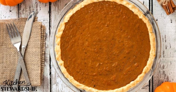 dairy free thanksgiving dessert recipe for Pumpkin pie