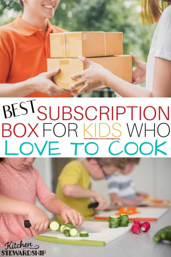 Best subscription box for kids who love to cook