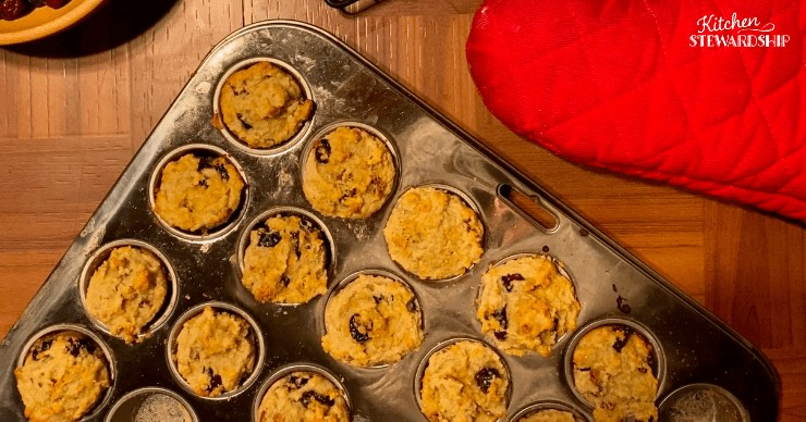 Cranberry, Orange, and Apricot Muffins