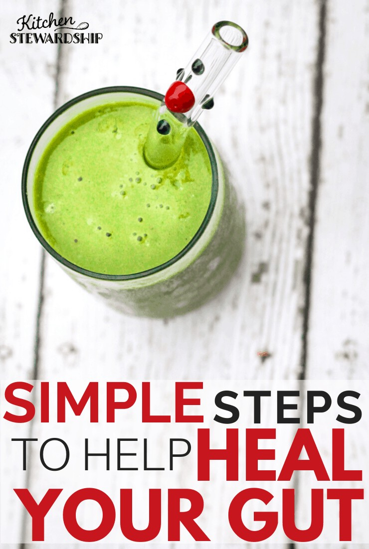 Simple Steps to Help Heal Your Gut