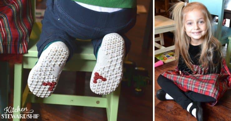 Kids wearing vivobarefoot shoes, barefoot shoes kids