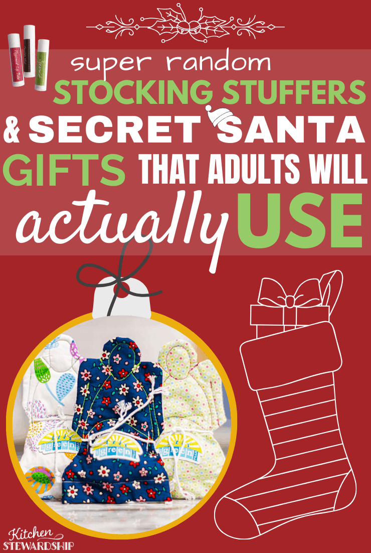 Super Random Stocking Stuffers and Secret Santa gifts That Adults With Actually Use