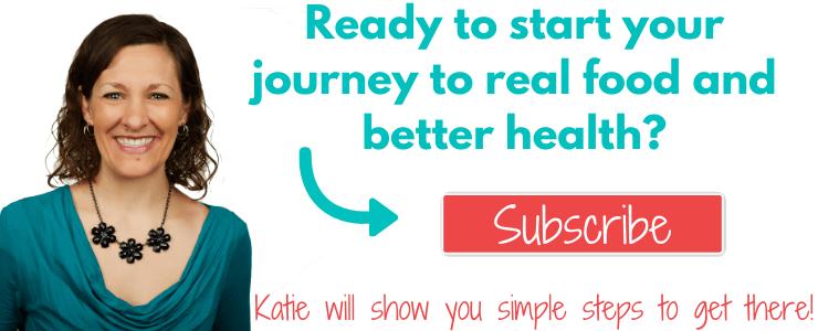 Sign Up For The Kitchen Stewardship Newsletter