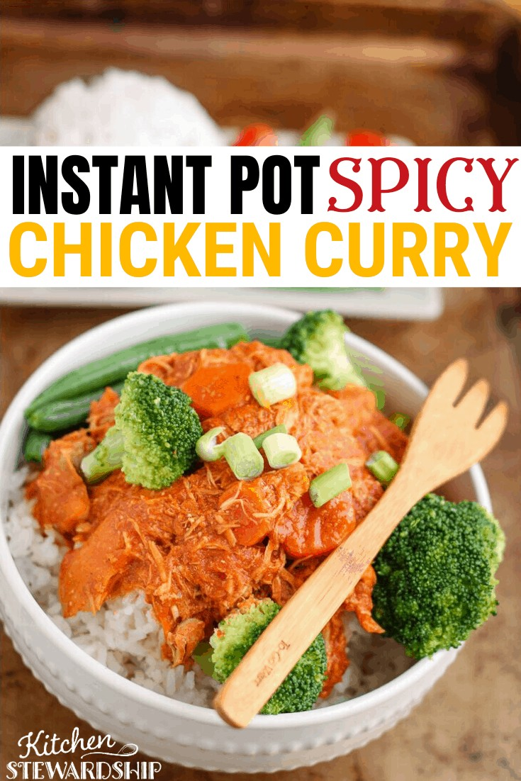 instant pot spicy chicken curry