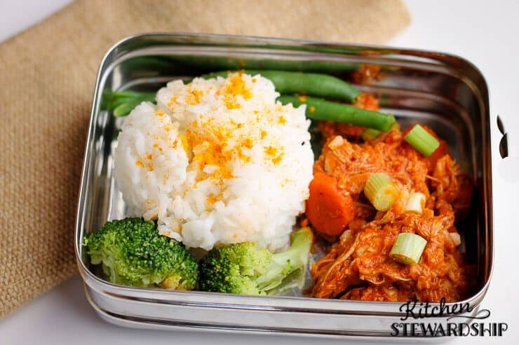 chicken curry lunch box